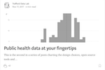 Public health data at your fingertips