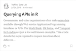 Querying APIs in R